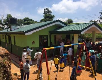 New Fair-grounds child care centre on Vellaioya Estate