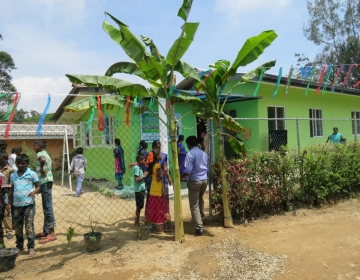 Opening Day Care Center & Community Center on Abbotsleigh Tea Estate
