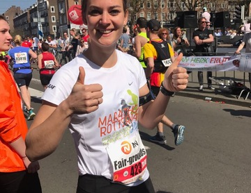 Fair-grounds running team finished the Rotterdam Marathon : Fair-grounds running team finished the Rotterdam Marathon